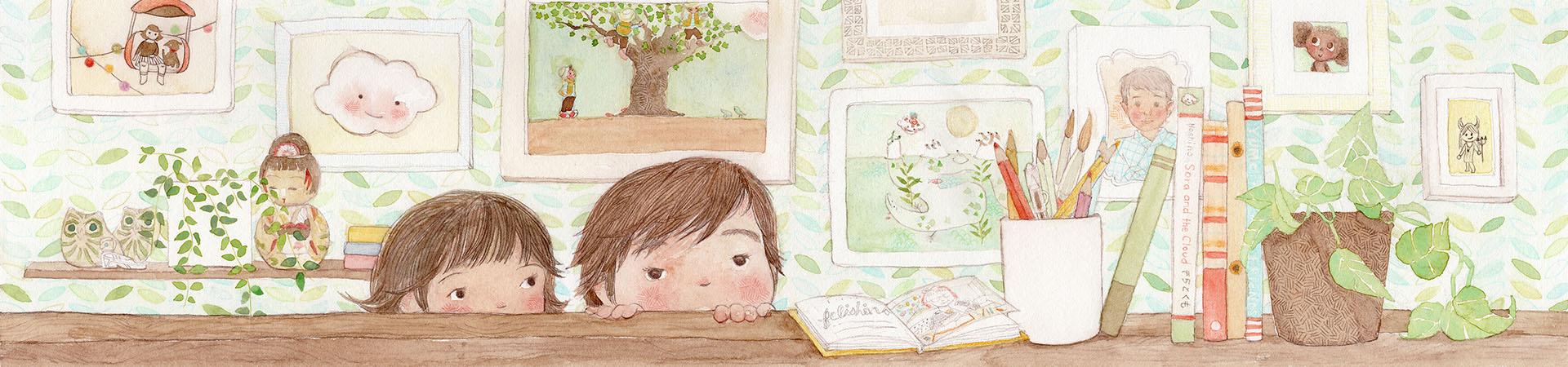 Felishino - Childrens Books and other illustrations by Felisha Hoshino