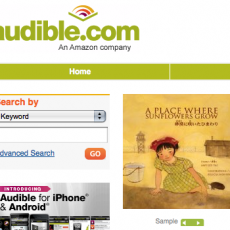 """Audible version of """"Sunflowers"""""""