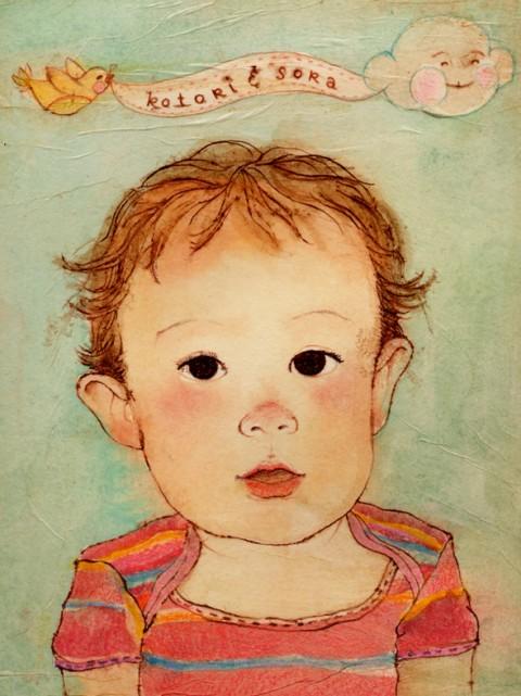 """""""Felicia Hoshino"""", """"children's portrait"""", """"Kotori"""""""