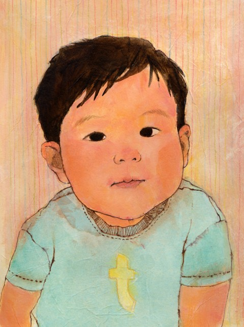 """Felicia Hoshino"", ""children's portrait"", Taye"