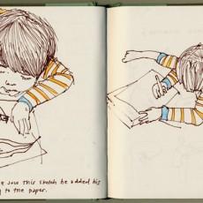 Drawing of Sora drawing