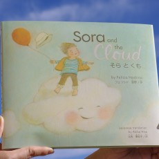A copy of Sora and the Cloud in my hands!