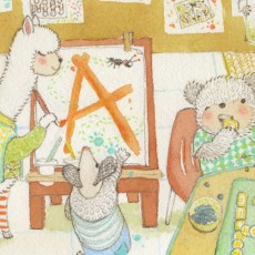"""A"" is for Alpaca & Armadillo"