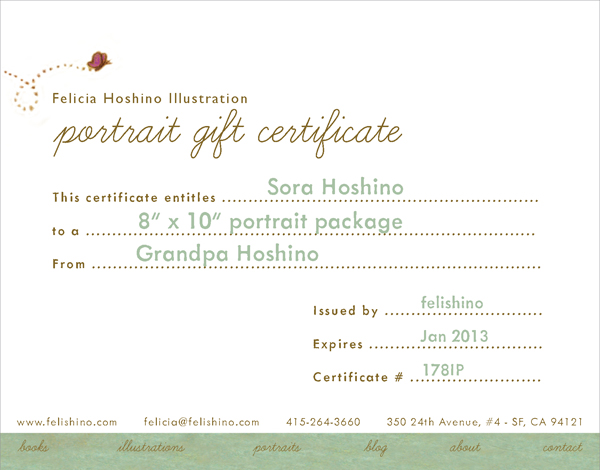 Dec 24 ...  Gift Certificate Wording